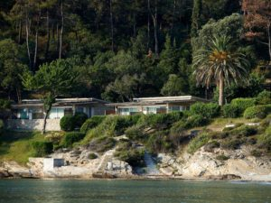 Makryammos Bungalows Hotel in the island of Thasos